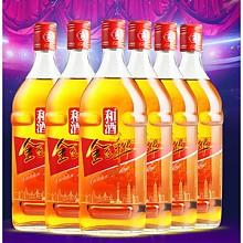 和酒 金色年华五年黄酒 500ml*6瓶装