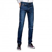皮尔卡丹 男款直筒经典牛仔裤