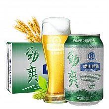 青岛啤酒 崂山劲爽330ml*24听