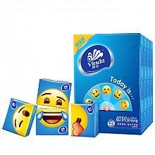 维达emoji限量版4层手帕纸*36包