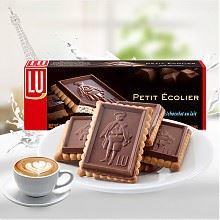 露怡 牛奶巧克力饼干 150g *3件