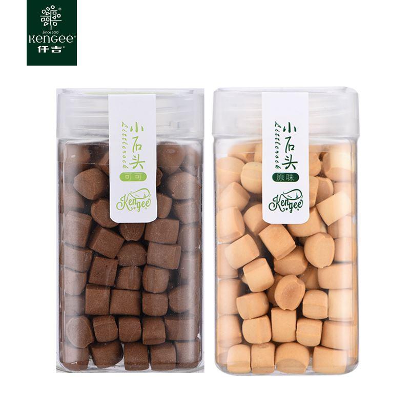 仟吉小石头曲奇饼150克*2罐