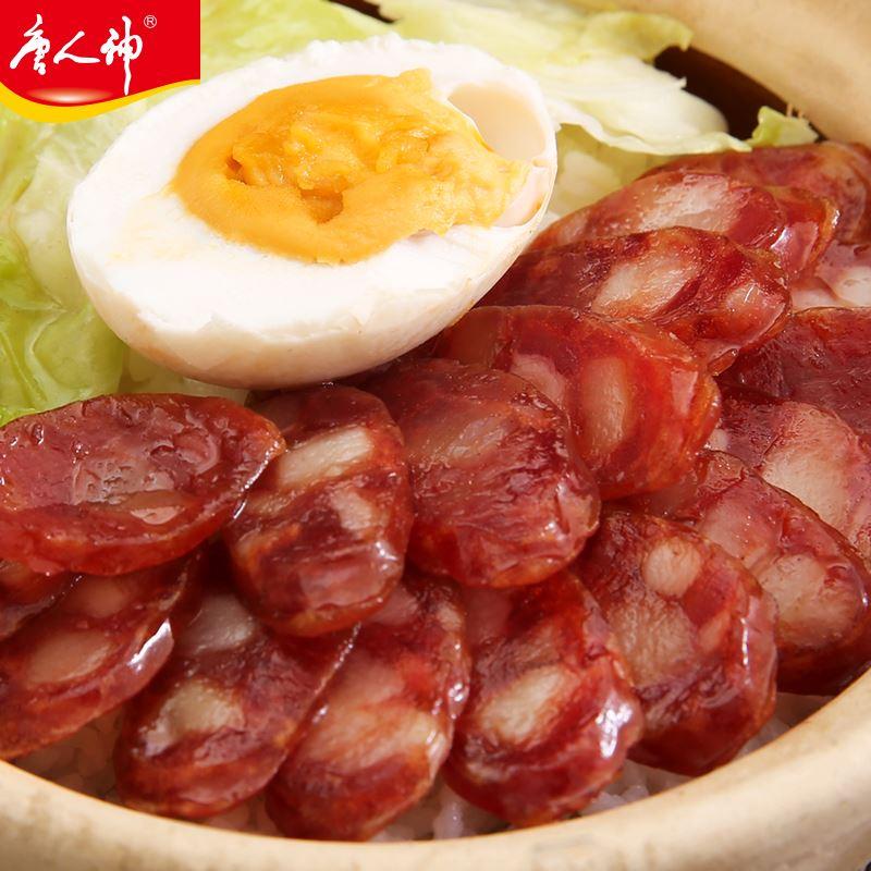 唐人神广式五福甜味香肠500g