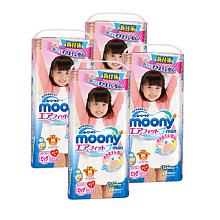 尤妮佳 女宝宝用拉拉裤 XL38片/包 8包装
