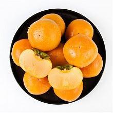 限京津:爱熊猫陕西富平脆柿12个装