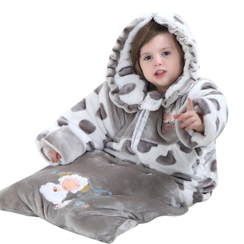 防踢被神器加厚婴儿睡袋