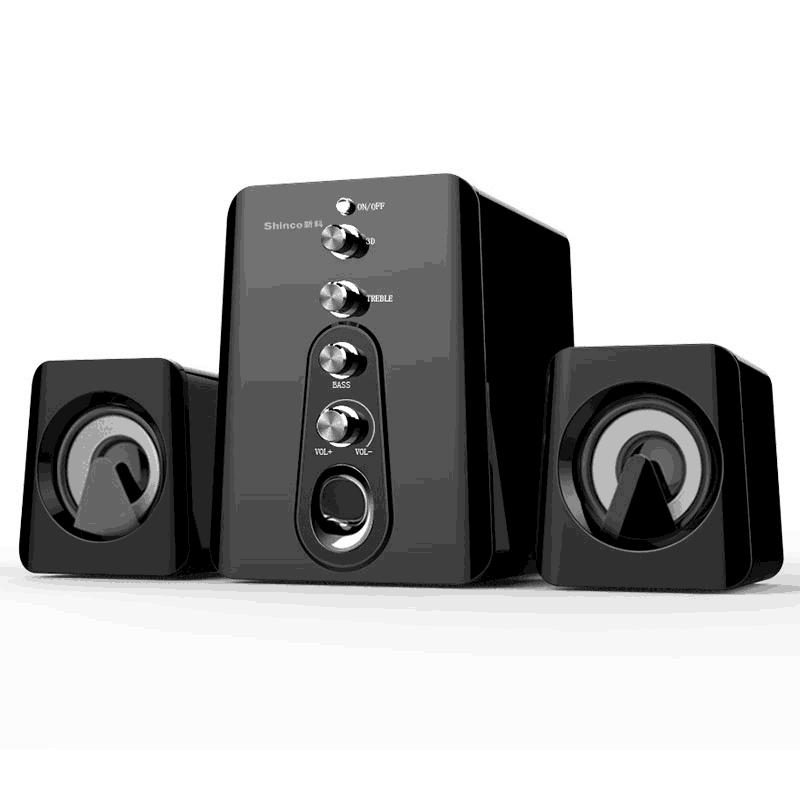 新科台式低音炮高清音箱