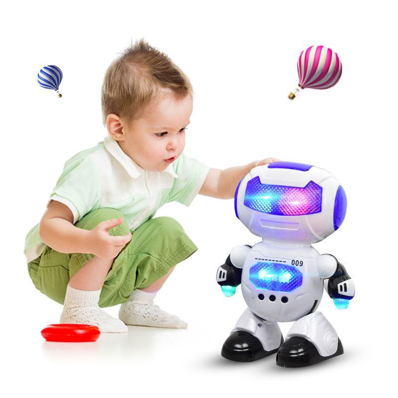 炫酷跳舞讲故事机器人玩具