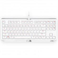 雷蛇黑寡妇机械键盘白色版 绿轴