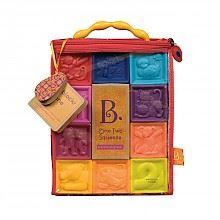 B.Toys 捏捏乐 数字浮雕软积木玩具