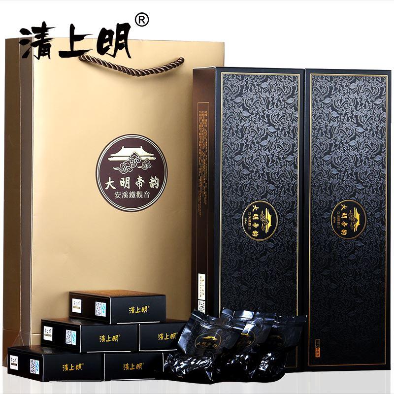 清上明2条装铁观音茶叶500g