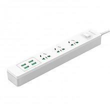 奥睿科(ORICO)小U插座 3位插口 带USB接口充电