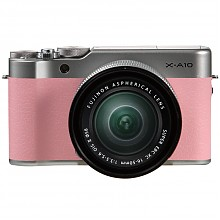 FUJIFILM 富士 X-A10套机(16-50mmII)微单相机  花漾粉