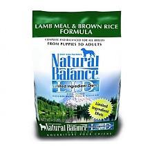 Natural Balance 限定系列 羊肉糙米全犬粮 14磅/6.35kg