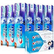 佳洁士 3D炫白双效牙膏180g6支 鹿晗咖啡箱