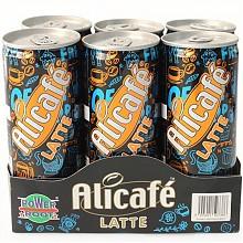 马来西亚进口 !Alicafe 啡特力 拿铁罐装咖啡饮料 240ml*6  17.45元(34.9元,2件5折)