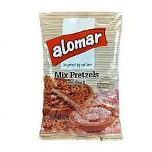alomar 阿罗玛 咸味脆脆圈饼干 100g*3袋
