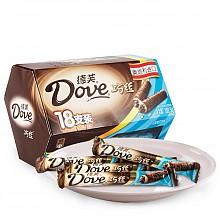 德芙 巧丝轻柔夹心威化巧克力 糖果巧克力 202.5g 18支装