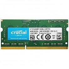 crucial 英睿达 DDR3 1600 4GB 笔记本内存