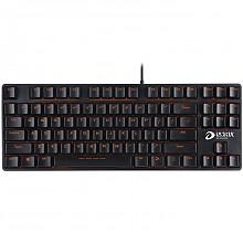 达尔优(dare-u)DK100 87键游戏机械键盘 黑轴