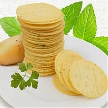 吉人 开心的土豆 非油炸薯片500g 非油炸更健康