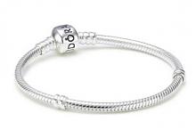 PANDORA 590702HV 银扣925银基础款蛇骨手链