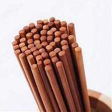 好管家 防霉无漆无蜡竹筷子 30双
