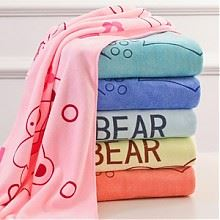 星盼超细纤维儿童浴巾140*70cm