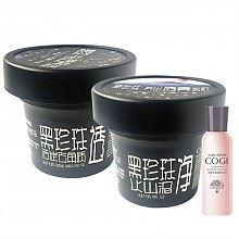 限地区:高姿黑珍珠活炭净化护肤套装(凝胶100g 清洁泥120g 大白水10ml)