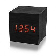mieo创意木头电子闹钟