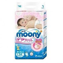 尤妮佳婴儿纸尿裤L54片