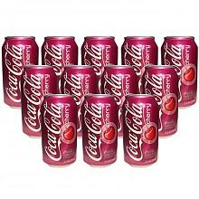 限PLUS会员:可口可乐樱桃味355ml*12罐