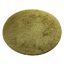 佳瑞欧式圆形丝毛地毯101cm