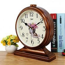 康巴丝创意欧式台挂两用座钟