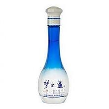 洋河梦之蓝M1浓香型白酒45度100ml*2瓶