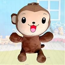 沃曼士毛猴子绒玩具48cm