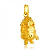 小黄人系列 黄金吊坠 约1.6g