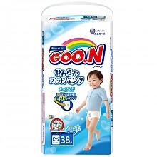 GOO.N 大王 男宝宝拉拉裤 XL38片