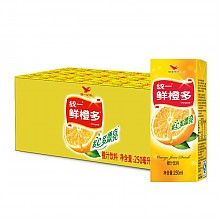 统一 鲜橙多 250ml*24盒