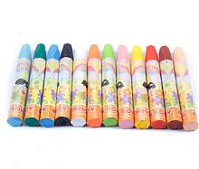 西瓜太郎无毒油画棒12色
