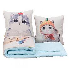 南柯一梦冬季加厚两用抱枕被子
