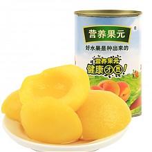 限华北西北:营养果元黄桃罐头425g *5件