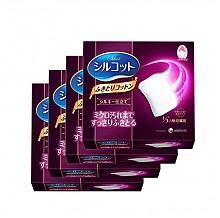 尤妮佳 Silcot 丝滑型极细纤维化妆棉32片*4盒