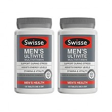 Swisse 男士复合维生素片 120片*2瓶