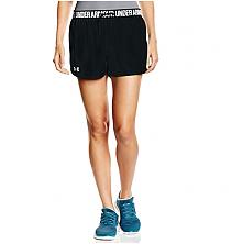 安德玛女子运动训练短裤