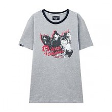 美特斯邦威 魔兽联名 男子夏季圆领T恤