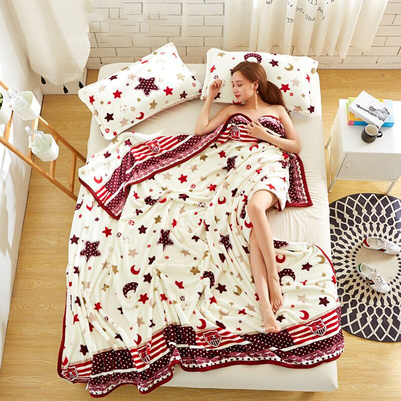 夏季法兰绒空调毯