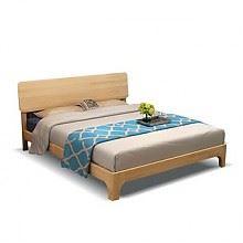 晟義德 松木实木床 200*150cm