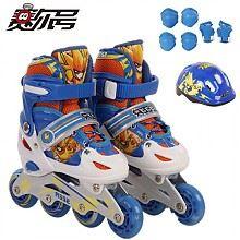 2套 迪士尼 CCB41182-J 儿童旱冰鞋套装(鞋 头盔 护具)