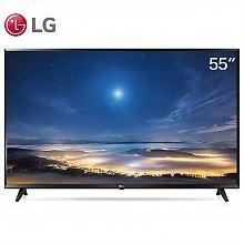 LG 超高清 智能超薄平板液晶电视机(黑色)